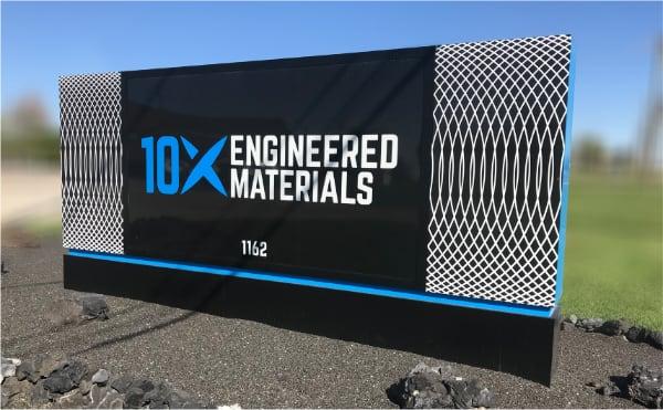 10X Engineered Materials Billboard