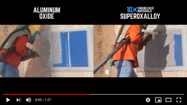 Aluminum Oxide vs Superoxalloy