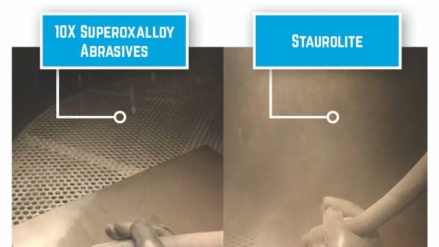 Superoxalloy improves worker visibility and surface quality